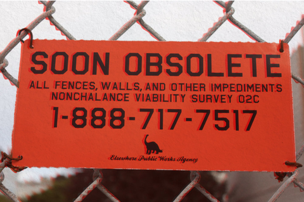 soon obsolete sign